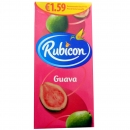 3x Rubicon Guava Juice Drink 1 l